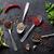 specerijen · knoflook · vers · peterselie · bladeren · keramische - stockfoto © karandaev