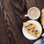 vers · croissants · houten · tafel · tabel · cafe · witte - stockfoto © karandaev