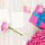 valentines day background with gift box full of pink roses and t stock photo © karandaev