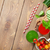 pomodoro · cetriolo · tavolo · in · legno · top - foto d'archivio © karandaev