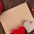 valentines day toy hearts and notepad for your text stock photo © karandaev