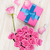 valentines day with gift box full of pink roses stock photo © karandaev