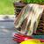 фермер · инструменты · саду · соломенной · шляпе · землю - Сток-фото © karandaev