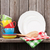 kitchen utensils on shelf stock photo © karandaev