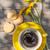 koffiekopje · cookies · tuin · tabel · top - stockfoto © karandaev