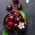 fresche · succosa · ciliegie · foglia · verde · isolato · bianco - foto d'archivio © karandaev