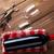 red wine bottle glasses and corkscrew on wooden table stock photo © karandaev