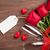 valentines day red roses and champagne stock photo © karandaev