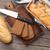 frescos · pan · cuchillo · trigo · retro - foto stock © karandaev