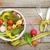 rouge · mètre · à · ruban · blanche · eau · alimentaire · pomme - photo stock © karandaev