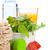 alimentação · saudável · fitness · saúde · isolado · branco · comida - foto stock © karandaev