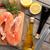 salmão · comida · peixe · mar · restaurante - foto stock © karandaev