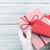 femenino · manos · azul · caja · de · regalo · mujer - foto stock © karandaev