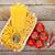 macarrão · tomates · temperos · mesa · de · madeira · fundo - foto stock © karandaev