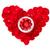 美しい · バラ · ギフトボックス · 中心 · ロマンチックな · ギフト - ストックフォト © karandaev