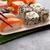 sushi · soya · arka · plan · tablo · akşam · yemeği · kırmızı - stok fotoğraf © karandaev