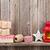 クリスマス · キャンドル · ランタン · 贈り物 · 装飾 · ギフトボックス - ストックフォト © karandaev