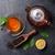 teiera · asciugare · tè · cucchiaio · pietra - foto d'archivio © karandaev