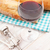 Red wine and bread stock photo © karandaev