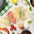 macarrão · cozinhar · ingredientes · topo - foto stock © karandaev