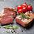 焼き · ローズマリー · 塩 · 唐辛子 · 黒 - ストックフォト © karandaev