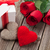 valentines day gift box roses and hearts stock photo © karandaev
