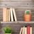 könyvek · fából · készült · polc · köteg · különböző · könyv - stock fotó © karandaev