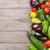 groenten · frame · mooie · gezonde · voeding · tuin - stockfoto © karandaev