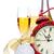 şampanya · Noel · kar · bo - stok fotoğraf © karandaev