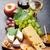 Wine, grape, cheese and honey stock photo © karandaev
