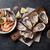 taze · deniz · ürünleri · beyaz · şarap · taş · tablo · istiridye - stok fotoğraf © karandaev