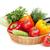 торговых · корзины · фрукты · овощей · белый · фото - Сток-фото © karandaev