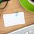 blank business cards over office table stock photo © karandaev