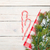 christmas background with candy cane and snow fir tree stock photo © karandaev