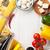 ピーマン · トマト · ニンニク · ショット · 白 · 食品 - ストックフォト © karandaev