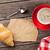 vers · croissant · heerlijk · brood · bakkerij · snack - stockfoto © karandaev