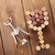 glass shaped corks and corkscrew stock photo © karandaev