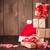 Weihnachten · hat · Holztisch · Natur - stock foto © karandaev
