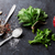 pepper and salt spices mint and parsley herbs stock photo © karandaev