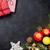 Noel · hediyeler · mumlar · kutu - stok fotoğraf © karandaev