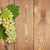 белый · виноград · деревянный · стол · копия · пространства · фрукты - Сток-фото © karandaev
