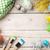 színes · festék · háttér · művészet · festmény · ecset - stock fotó © karandaev