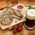 mustár · mártás · fehér · étel · háttér · szolgáltatás - stock fotó © karandaev