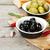 italiana · pane · oliva · aglio · erbe · fatto · in · casa - foto d'archivio © karandaev