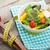 新鮮な · 健康 · サラダ · 白 · 木製のテーブル - ストックフォト © karandaev