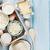 zure · room · melk · kaas · ei · yoghurt - stockfoto © karandaev