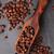 chicchi · di · caffè · rosolare · panno · alimentare · cucchiaio - foto d'archivio © karandaev