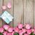 розовый · роз · шкатулке · цветы · закрывается - Сток-фото © karandaev