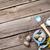 kleurrijk · paaseieren · borstel · houten · tafel · top - stockfoto © karandaev