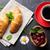 taze · karpuzu · mermer · üst · görmek · gıda - stok fotoğraf © karandaev